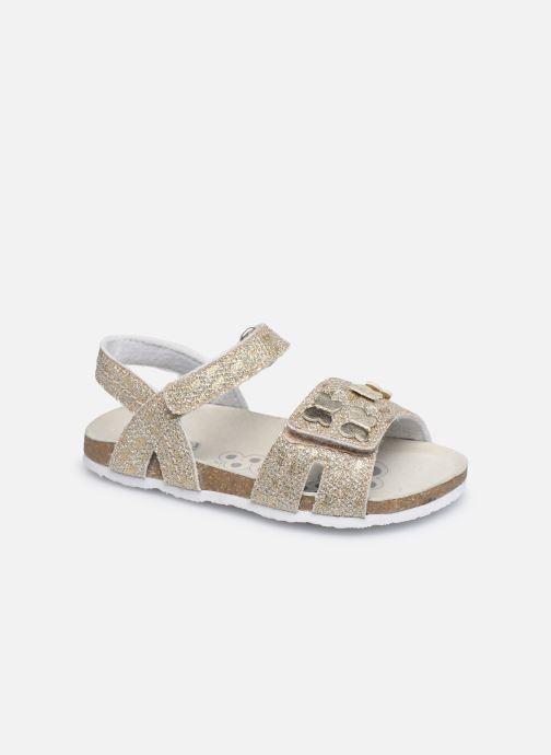 Sandales et nu-pieds Chicco Farfalla Or et bronze vue détail/paire