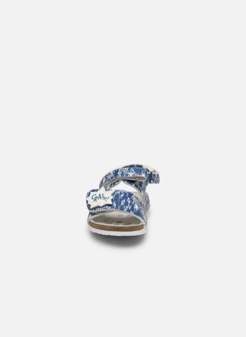 Sandali e scarpe aperte Chicco Hazel Azzurro modello indossato