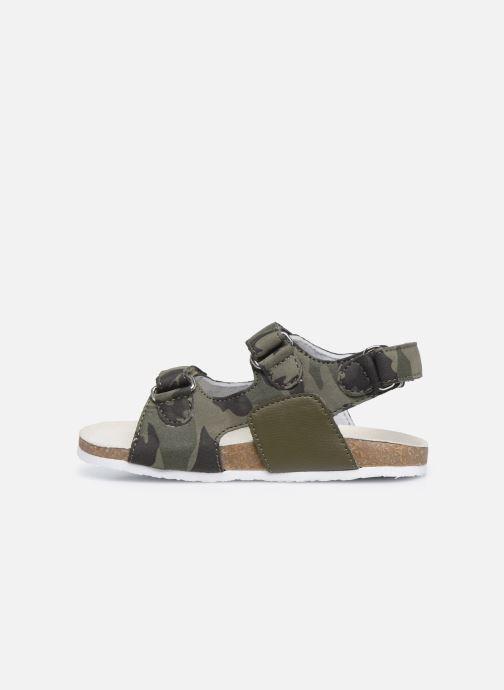 Sandalen Chicco Helmos grün ansicht von vorne