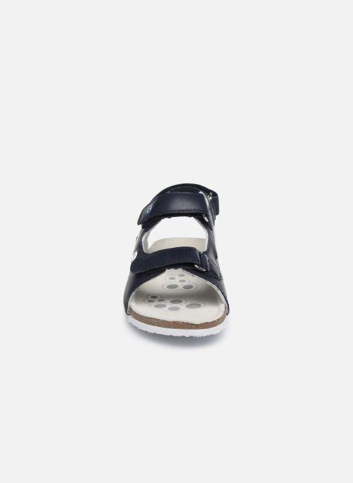 Sandales et nu-pieds Chicco Helmos Bleu vue portées chaussures
