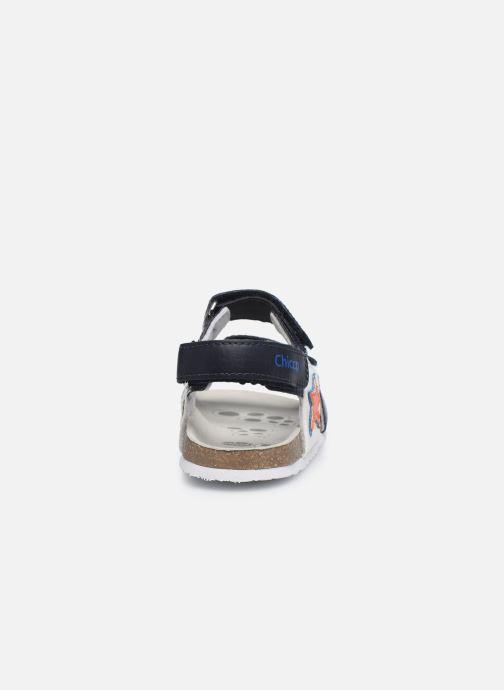 Sandales et nu-pieds Chicco Helmos Bleu vue droite