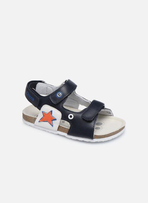 Sandales et nu-pieds Chicco Helmos Bleu vue détail/paire