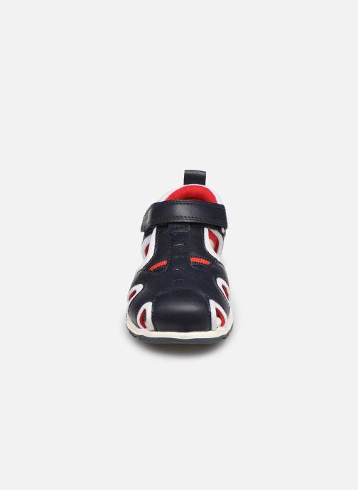 Sandales et nu-pieds Chicco Costarica Bleu vue portées chaussures