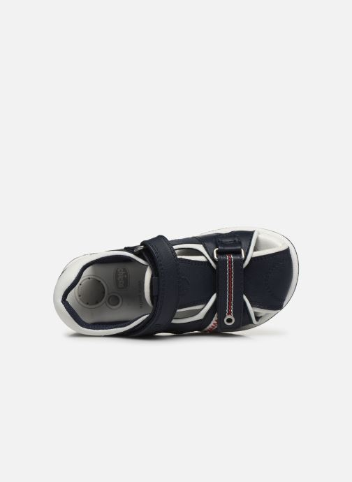 Sandales et nu-pieds Chicco Calligan Bleu vue gauche