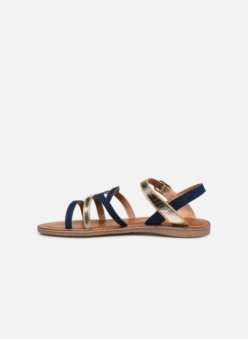 Sandales et nu-pieds L'Atelier Tropézien Sandales IL101 Bleu vue face