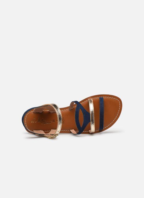 Sandales et nu-pieds L'Atelier Tropézien Sandales IL101 Bleu vue gauche