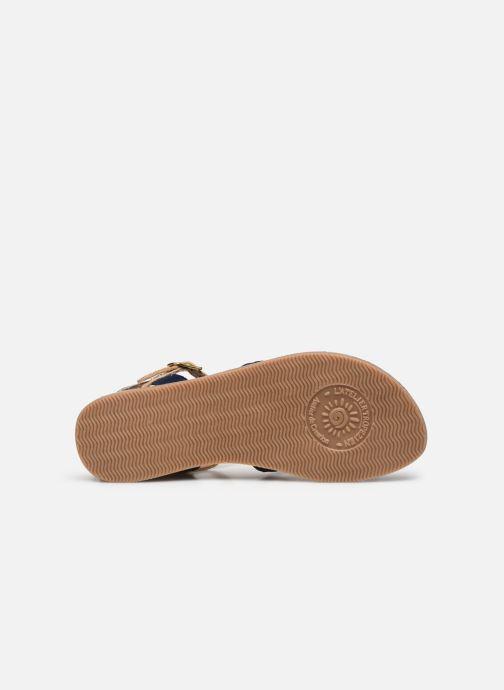 Sandales et nu-pieds L'Atelier Tropézien Sandales IL101 Bleu vue haut