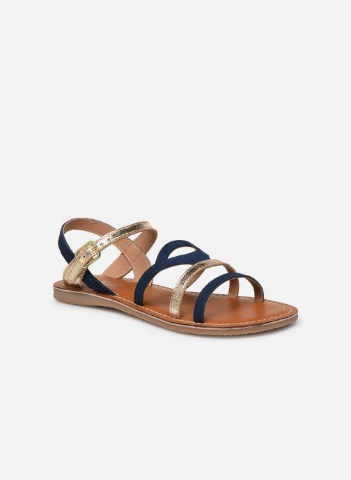 Sandales et nu-pieds L'Atelier Tropézien Sandales IL101 Bleu vue détail/paire