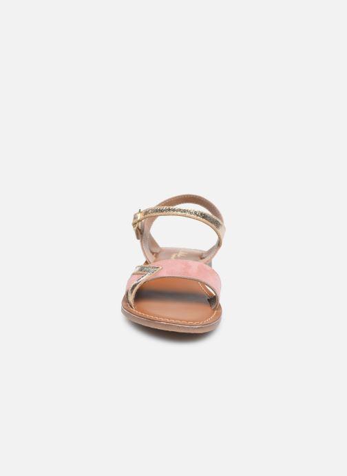 Sandales et nu-pieds L'Atelier Tropézien Sandales IL107 Rose vue portées chaussures
