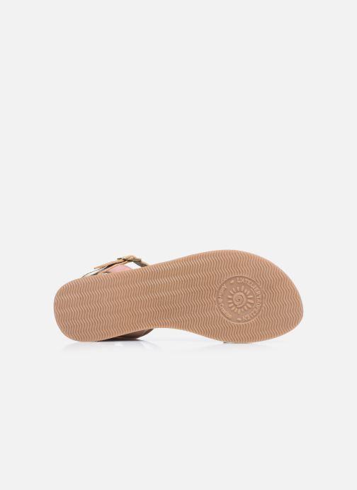 Sandales et nu-pieds L'Atelier Tropézien Sandales IL107 Rose vue haut