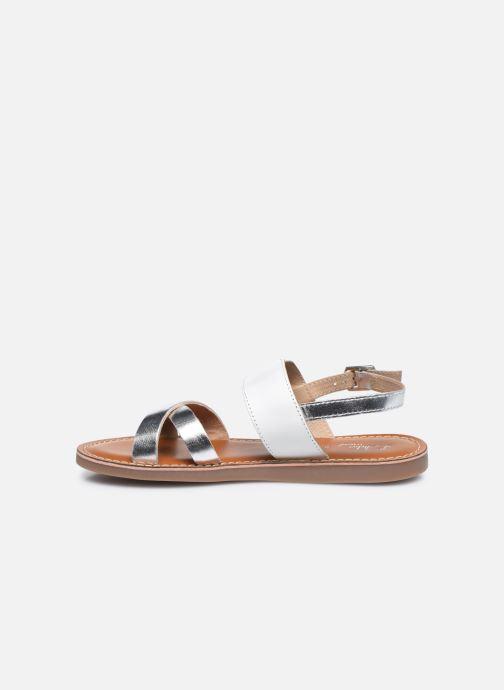 Sandales et nu-pieds L'Atelier Tropézien Sandales SB607E Blanc vue face