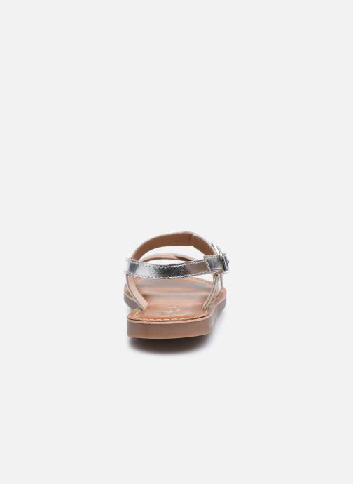 Sandales et nu-pieds L'Atelier Tropézien Sandales SB607E Blanc vue droite