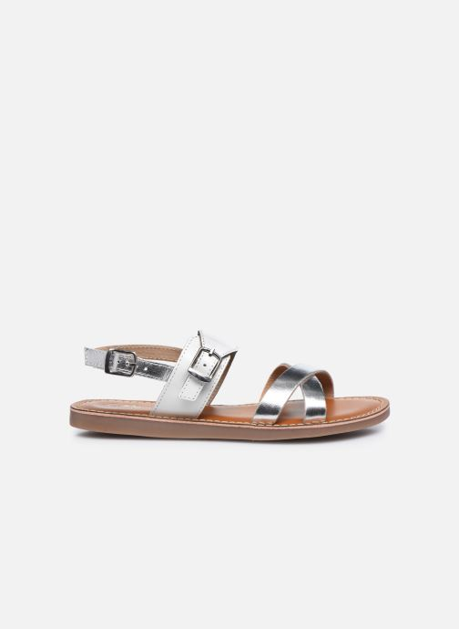 Sandales et nu-pieds L'Atelier Tropézien Sandales SB607E Blanc vue derrière
