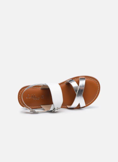 Sandales et nu-pieds L'Atelier Tropézien Sandales SB607E Blanc vue gauche