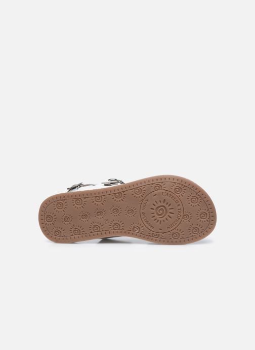 Sandali e scarpe aperte L'Atelier Tropézien Sandales SB607E Bianco immagine dall'alto