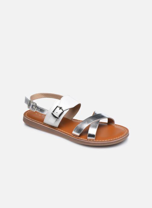 Sandales et nu-pieds L'Atelier Tropézien Sandales SB607E Blanc vue détail/paire