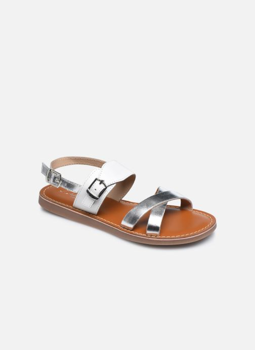 Sandali e scarpe aperte L'Atelier Tropézien Sandales SB607E Bianco vedi dettaglio/paio