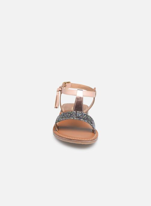 Sandales et nu-pieds L'Atelier Tropézien Sandales IL112E Beige vue portées chaussures
