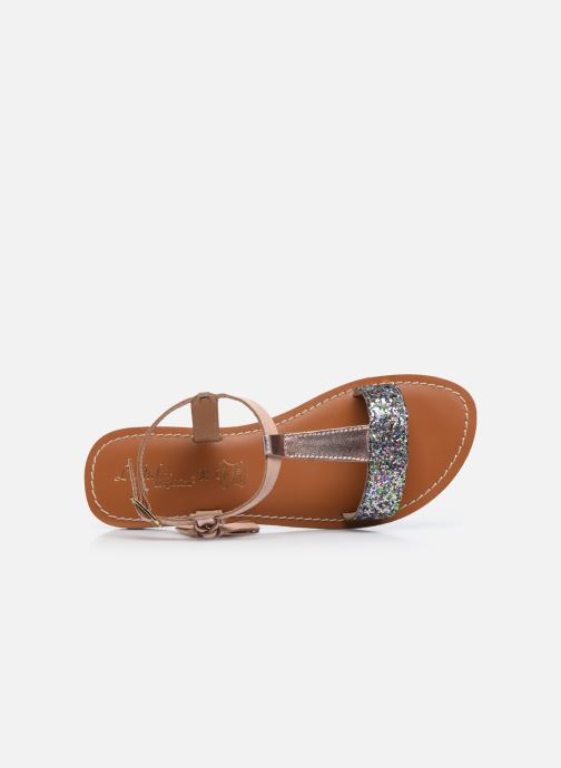 Sandales et nu-pieds L'Atelier Tropézien Sandales IL112E Beige vue gauche