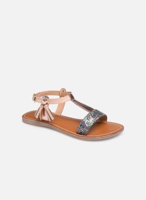Sandales et nu-pieds L'Atelier Tropézien Sandales IL112E Beige vue détail/paire