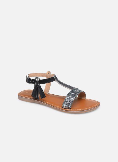 Sandales et nu-pieds L'Atelier Tropézien Sandales IL112E Gris vue détail/paire