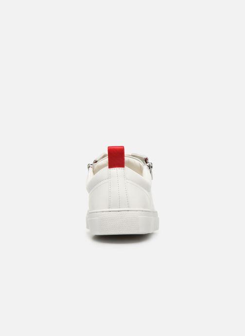 Baskets Hugo Futurism Tenn nazc Blanc vue droite
