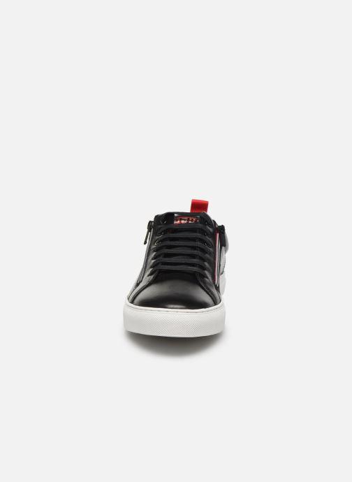 Baskets Hugo Futurism Tenn nazc Noir vue portées chaussures