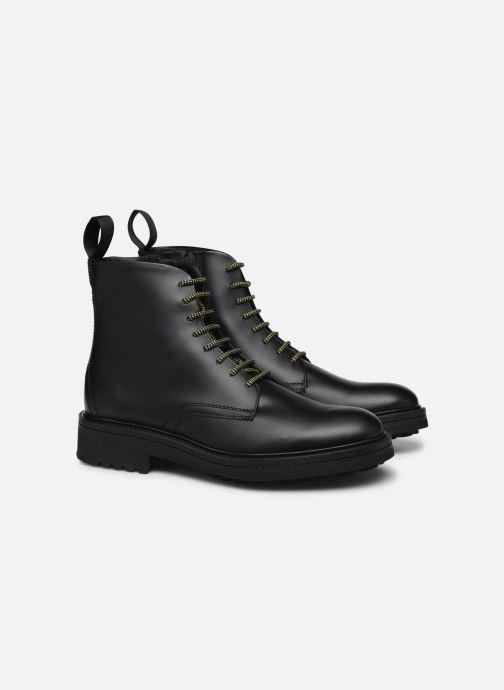 Bottines et boots Hugo Impact Halb bo1 Noir vue 3/4