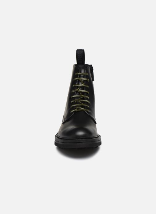 Bottines et boots Hugo Impact Halb bo1 Noir vue portées chaussures