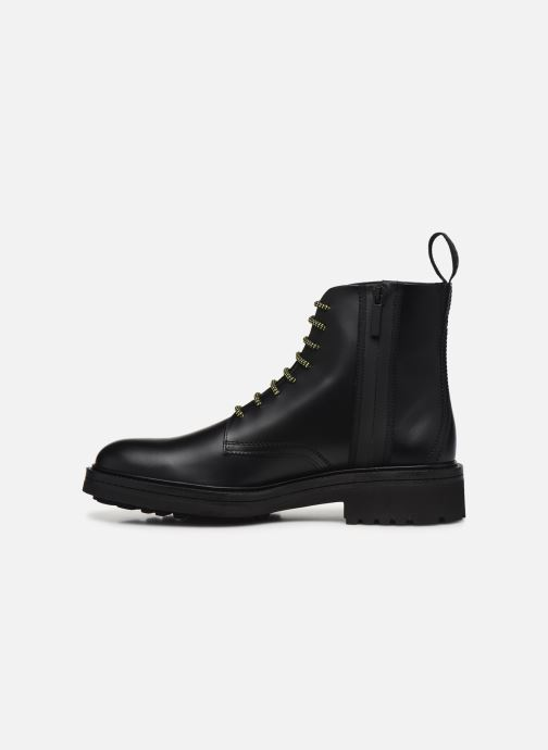 Bottines et boots Hugo Impact Halb bo1 Noir vue face