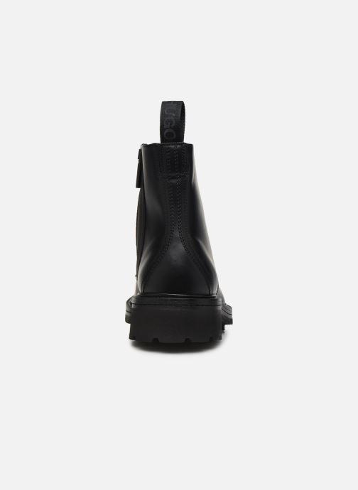 Bottines et boots Hugo Impact Halb bo1 Noir vue droite