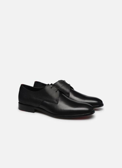 Chaussures à lacets Hugo Midtown Derb ltpr Noir vue 3/4