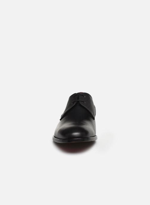Chaussures à lacets Hugo Midtown Derb ltpr Noir vue portées chaussures