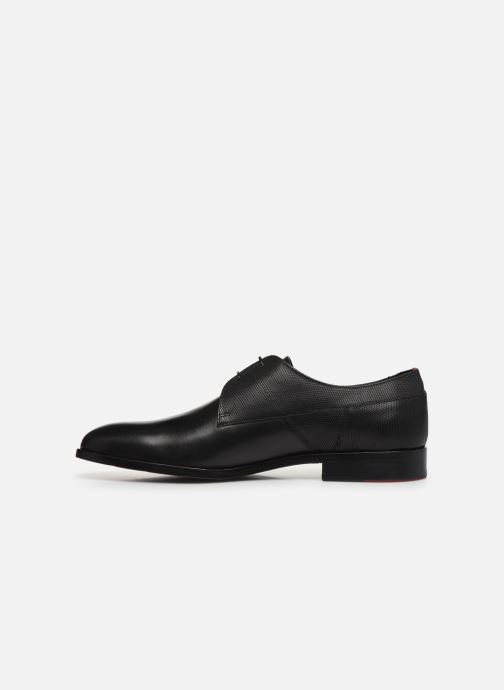 Chaussures à lacets Hugo Midtown Derb ltpr Noir vue face