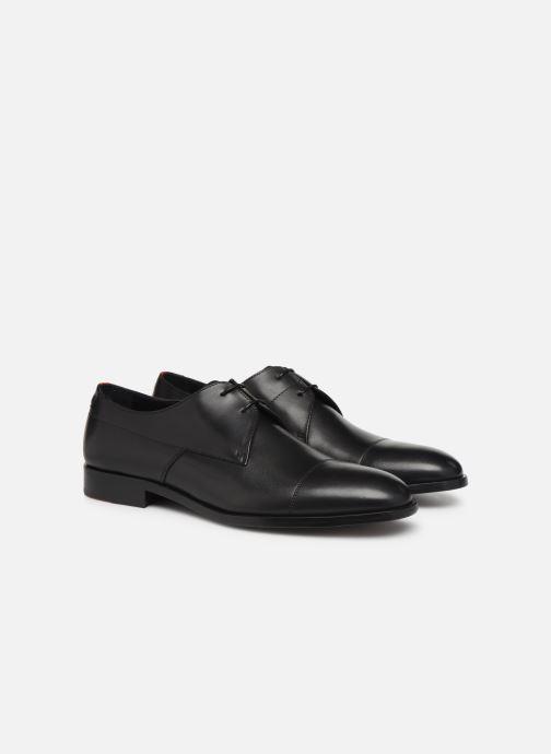 Chaussures à lacets Hugo Midtown Derb buct Noir vue 3/4