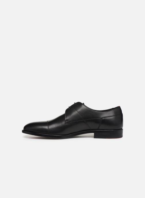 Chaussures à lacets Hugo Midtown Derb buct Noir vue face