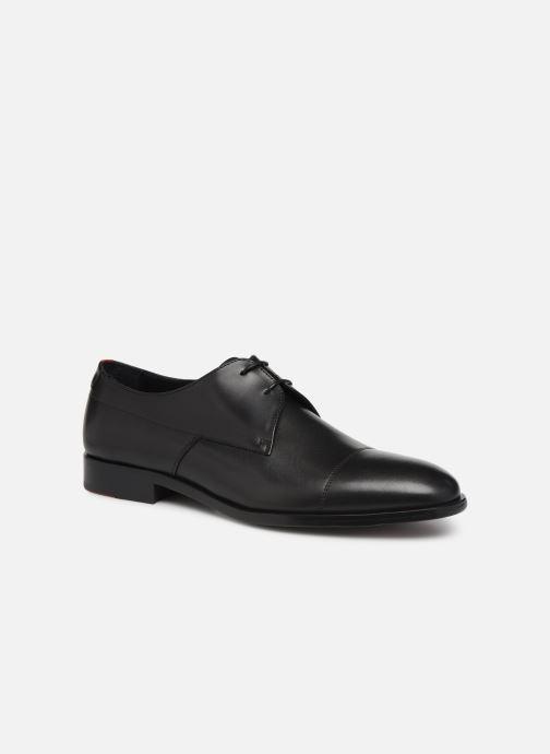 Chaussures à lacets Hugo Midtown Derb buct Noir vue détail/paire