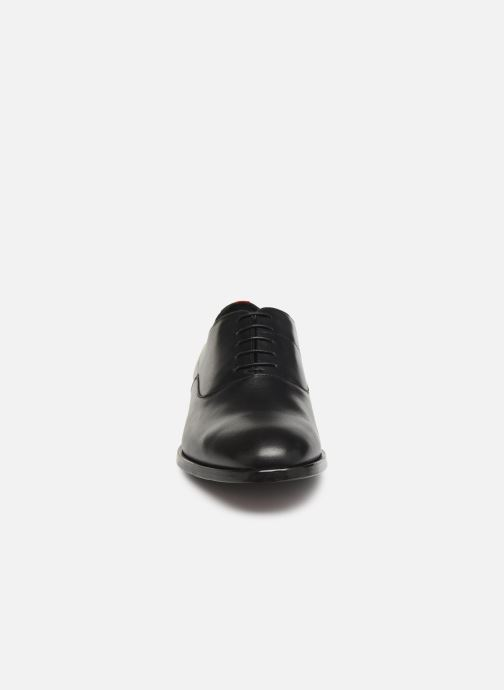 Chaussures à lacets Hugo Midtown Oxfr bu Noir vue portées chaussures