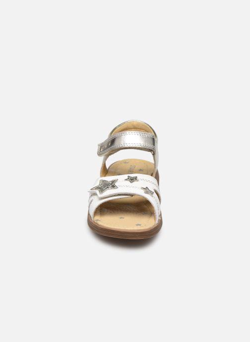 Sandalias Start Rite Twinkle Plateado vista del modelo