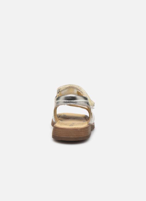Sandales et nu-pieds Start Rite Twinkle Argent vue droite