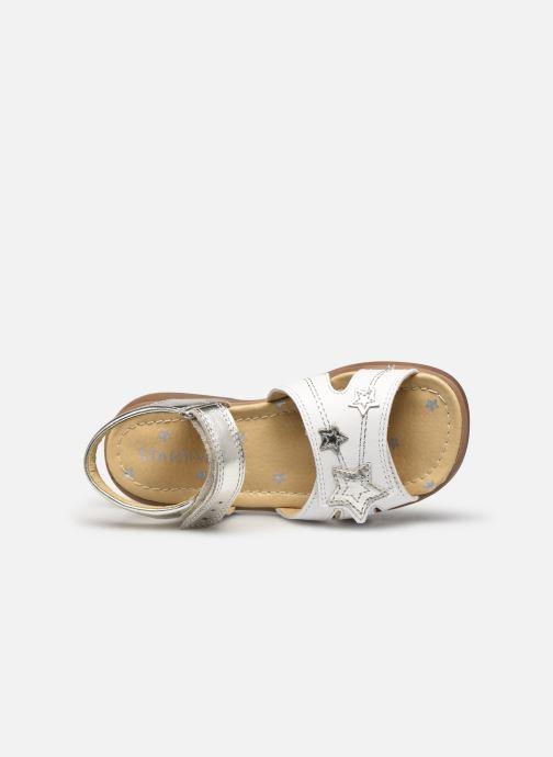 Sandales et nu-pieds Start Rite Twinkle Argent vue gauche