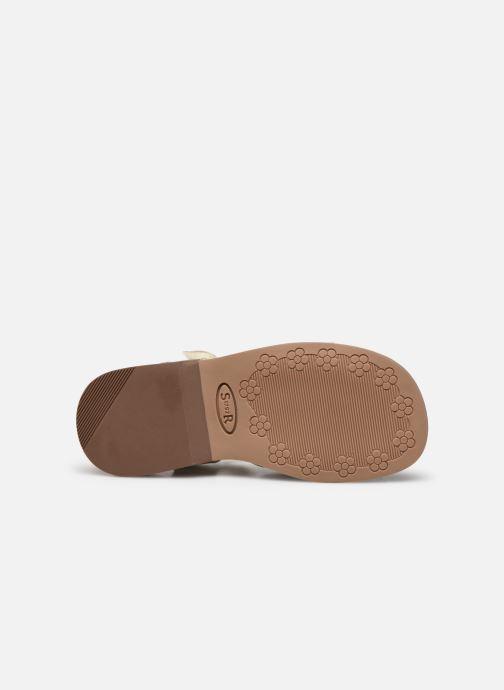 Sandales et nu-pieds Start Rite Twinkle Argent vue haut