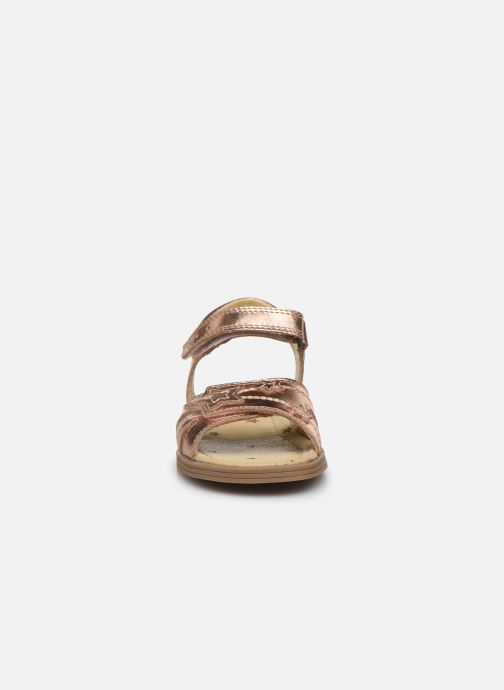 Sandali e scarpe aperte Start Rite Twinkle Oro e bronzo modello indossato