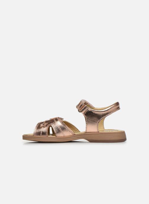 Sandali e scarpe aperte Start Rite Twinkle Oro e bronzo immagine frontale