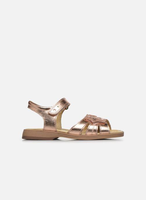 Sandali e scarpe aperte Start Rite Twinkle Oro e bronzo immagine posteriore