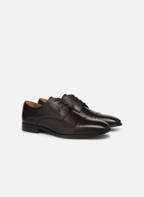 Lace-up shoes BOSS Lisbon Derb buct Brown 3/4 view