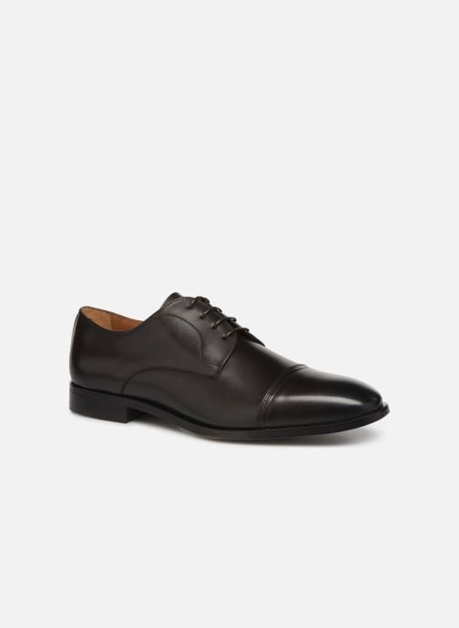 Lace-up shoes BOSS Lisbon Derb buct Brown detailed view/ Pair view