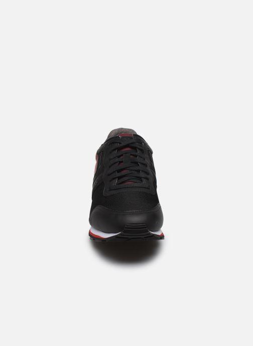 Baskets BOSS Parkour Runn strb Bleu vue portées chaussures