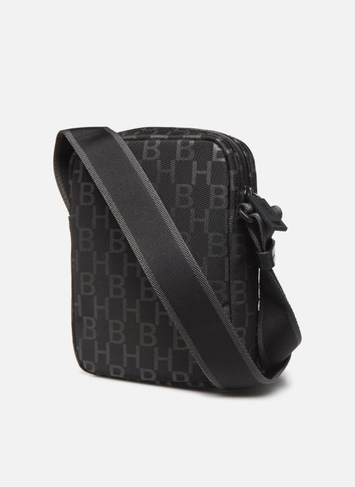 Men's bags BOSS Pixel AO NS zip Black view from the right