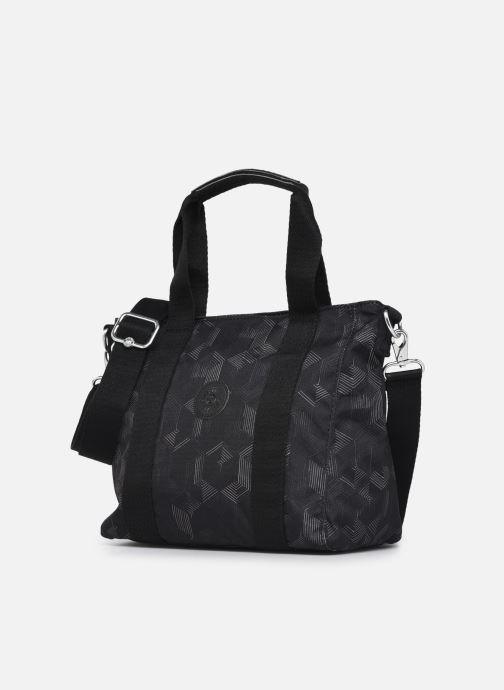 Handtaschen Kipling Asseni mini grau schuhe getragen